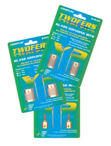 TWOFERS Glass Grinding Bits